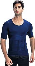 BAOSASION(バオサジョン) 加圧インナー コンプレッションウェア【品質保証】2018 お腹引き締め スポーツウェア 筋肉 Tシャツ コンプレッションインナー 補正下着 メンズ