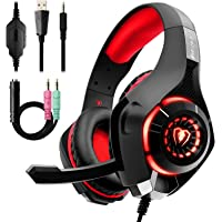 Gaming Headset, PS4 Beexcellent Headset, PC Gaming Headphones, Sound Collecting…