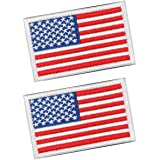Tactical Patches of USA US American Flag Punisher Don't Tread On Me Skull, with Hook and Loop for Backpacks Caps Hats Jackets