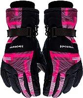 Motomo防撥水 防寒 透湿 アウトドア 冬用 バイク マリンレジャー 登山 バイク スキー 手袋グローブ 男性用 女性用