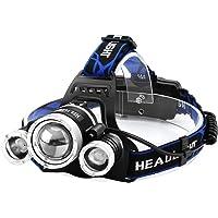 【進化版】Helius LEDヘッドライト usb充電式 6000ルーメン センサー 電気出力 電量ディスプレイ可能 4モード