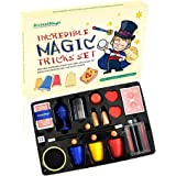 BrilliantMagic BMM009 Newest Incredible Magic Tricks Set Box Includes Selected 15 Great Magic Props Collection