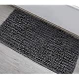 DEARTOWN Bath Mat Runner for Bathroom Contour Rug,Long Floor Mats,Extra Soft, Absorbent, Anti-Skid TPR Bottom,Machine-Washabl