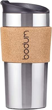 Bodum Insulated Plastic Travel Press Coffee and Tea Mug