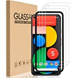 HEYUS [3 Pack] Pixel 5 Screen Protector Glass Film, Case Friendly (Easy Install) Tempered Glass Screen Protector for Google P