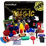 BrilliantMagic Magic Set Magic Kit for Kids Science Toys for Children Including 25 Classic Tricks Easy to Play Magic Best Gif