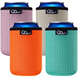 WKieason 12oz Standard Can Sleeves Insulators Sleeves Standard Can Covers 12OZ Beer Bottle Sleeves Coolers Holder Non-slip Ne