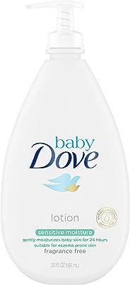 Baby Dove Fragrance FreeLotion, Sensitive Moisture, 20 oz