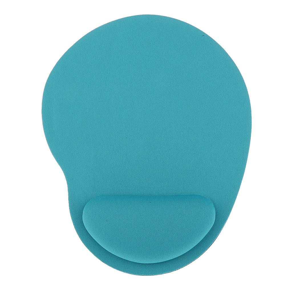 マウス手首パッド 快適 ソフト 手首のサポートマット マウスパッド ゲーミング用 人間工学 疲労軽減 全2色 - ライトグリーン