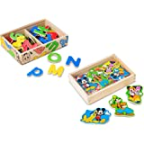 Melissa & Doug 7775 Disney Mickey Mouse & Friends Magnet Toy With 52 Letter Magnets and 20 Character Magnets
