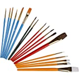 25Pcs Oil Paint Brushes Set, Multifunctional Acrylic Oil Watercolour Paintbrushs Kit Artists Painting Brush