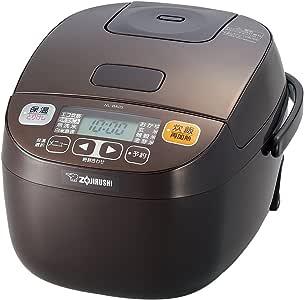 象印 炊飯器 マイコン式 3合 ブラウン NL-BA05-TA