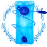 Hydration Bladder 2 Liter 3 Liter Water Bladder, SKL Upgraded Leak Proof Water Reservoir Hydration Pack with Quick Release In