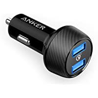 Anker PowerDrive Speed 2 (Quick Charge 3.0 & Power IQ対応 39W…