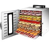 フードドライヤー 10層 食品乾燥機 フルーツ乾燥 食品乾燥 温度調整 時間設定 360°循環加熱