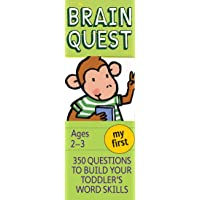 My First Brain Quest: 350 Questions to Build Your Toddler's…