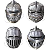 Beistle Knight Masks Party Accessory | 4-pcs | (1-Pack)