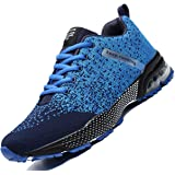 Zeoku Mens Running Shoes Fashion Breathable Air Cushion Sneakers Lightweight Tennis Sport Casual Walking Athletic for Men Out