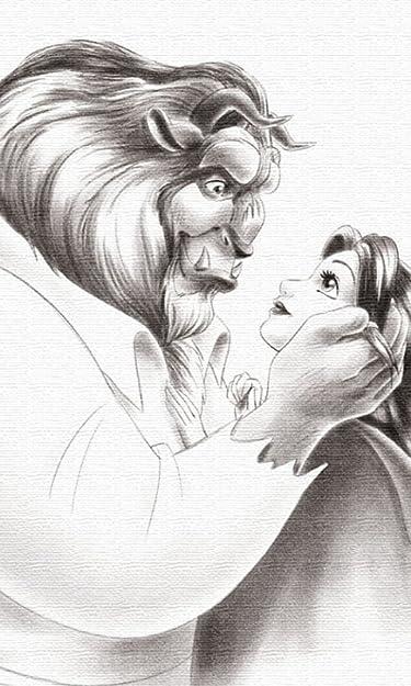ディズニー  iPhone/Androidスマホ壁紙(480×800)-1 - 美女と野獣