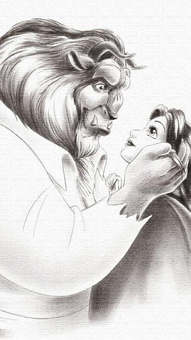 ディズニー  iPhone/Androidスマホ壁紙(480×854)-1 - 美女と野獣
