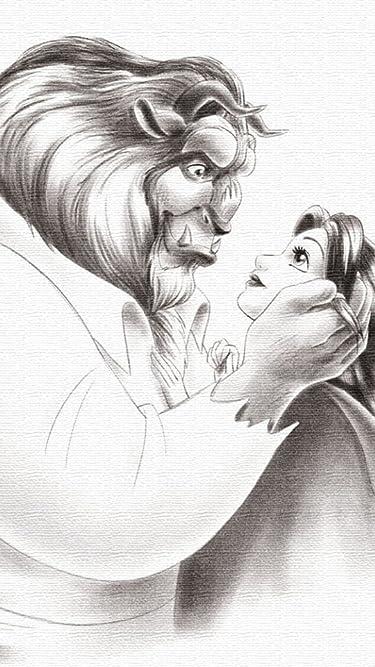 ディズニー  iPhone/Androidスマホ壁紙(540×960)-1 - 美女と野獣