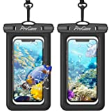 ProCase Floating Waterproof Phone Pouch, Universal Float Underwater Dry Bag Case for iPhone 13 Pro Max/ 12 Pro Max 11 XS XR 8
