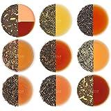 VAHDAM, Assorted Loose Leaf Tea Sampler - 10 TEAS, 50 Servings - Black Tea, Green Tea, Oolong Tea, Chai Tea, White Tea | Tea