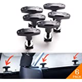 GPCA Tie-Down Anchor/T-Handle Quick Removal Thumb Screw Bolts Set for Jeep Wrangler JL/JLU/JK/JKU Hard Top Cargo Deck, Design