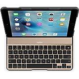 【国内正規代理店品】ベルキン・BELKIN QODE iPad Air 2 対応 Ultimate Lite キーボードケース(ブラック/ゴールド) F5L190QEBGB