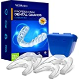 NEOMEN Health Professional Dental Guard - Pack of 4 - New Upgraded Anti Grinding Dental Night Guard, Stops Bruxism, Tmj & Eli