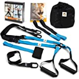 Bodyweight Resistance Suspension Training Straps - Home Fitness Trainer for All Levels, Full Body Workout | Zion Sports
