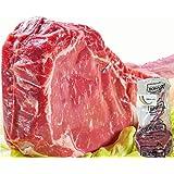 [Amazon限定ブランド] 牛肉 リブロース ステーキ とろける トマホーク ステーキ肉 極厚5cm ビックサイズ30cm 虹色キッチン (1kg (1本))