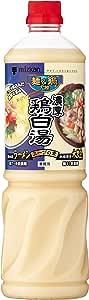 ミツカン 麺&鍋大陸 濃厚鶏白湯スープの素 1110g
