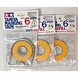 TAMIYA 6mm Masking Tape with 2pcs Refill