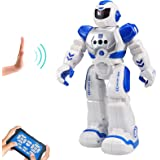 Sikaye RC Robot for Kids Intelligent Programmable Robot with Infrared Controller Toys, Dancing, Singing, Led Eyes, Gesture Se