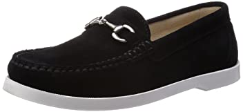 Suede Bit Loafer 11-32-0268-232: Black