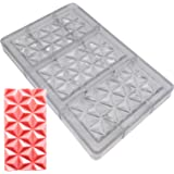 Goldbaking Polycarbonate Pyramidal Bar Chcoolate Mold Large Poly-carbonate Candy Mould
