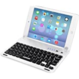 Arteck Ultra-Thin Apple iPad Mini Bluetooth Keyboard Folio Case Cover with Built-in Stand Groove for Apple iPad Mini 3/2 / 1