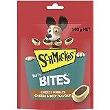 Schmackos Tasty Bites Cheese And Beef Dog Treats, 6 x 140g, Puppy/Adult/Senior, Small/Medium/Large