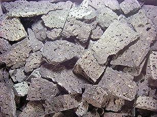 み尋「溶岩石・割石ラヴァロック 黒玄武製」1kg