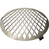 Vortex Direct Sear Grill Grate Accessory for Medium BBQ Vortex Charcoal Cone; Fits 18.5 22.5 26.5 Weber, WSM, Kettle, UDS - S