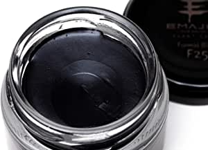 EMAJINY Formal Black F25 エマジニー フォーマルブラックヘアカラーワックス 黒 36g 【日本製】【無香料】【シャンプーでサッと洗い流せる1日黒髪】