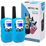 Retevis RT-388 Kids Walkie Talkies LCD Display VOX Scan Flashlight Walkie Talkies Toys for Children for Birthday Gift Christm