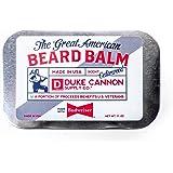 Duke Cannon Supply Co. Great American Beard Balm, 1.6oz - Made with Budweiser (Cedarwood Scent)
