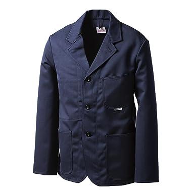 Kempel Italian Serge Tailored Jacket: Navy