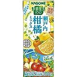 カゴメ 野菜生活100季節限定瀬戸内柑橘ミックス195ml ×24本