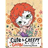 Creepy and Cute Chibi Coloring Book: A Collection of Unbelievably Cute, Creepy and Fun Chibi Colouring Pages | Kawaii Horror