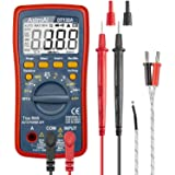 AstroAI Digital Multimeter, TRMS 4000 Counts Volt Meter Manual and Auto Ranging; Measures Voltage Tester, Current, Resistance