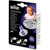 Braun ThermoScan Lens Filters for Ear Thermometers-Pack of 40