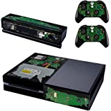 REYTID Console Skin / Sticker + 2 x Controller Decals & Kinect Wrap Compatible with Microsoft Xbox One - Full Set - Internal